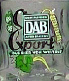 Brewery DAB Germany - Logo with ears and hop